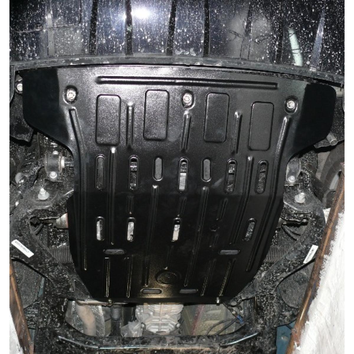 Защита двигателя VW Amarok