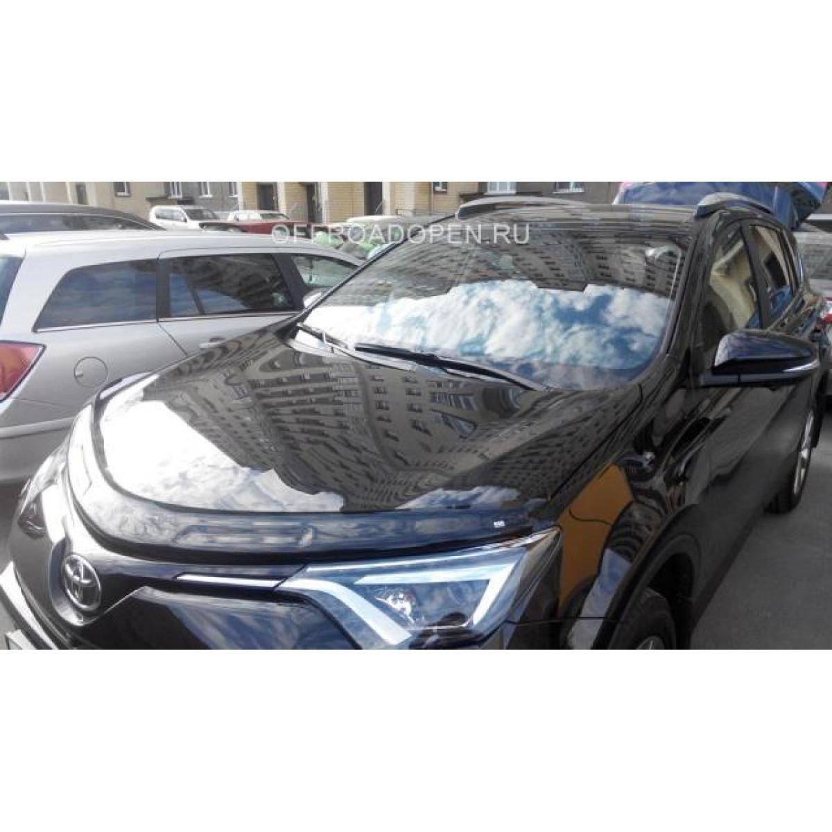 Дефлектор капота Toyota Rav 4 2016+