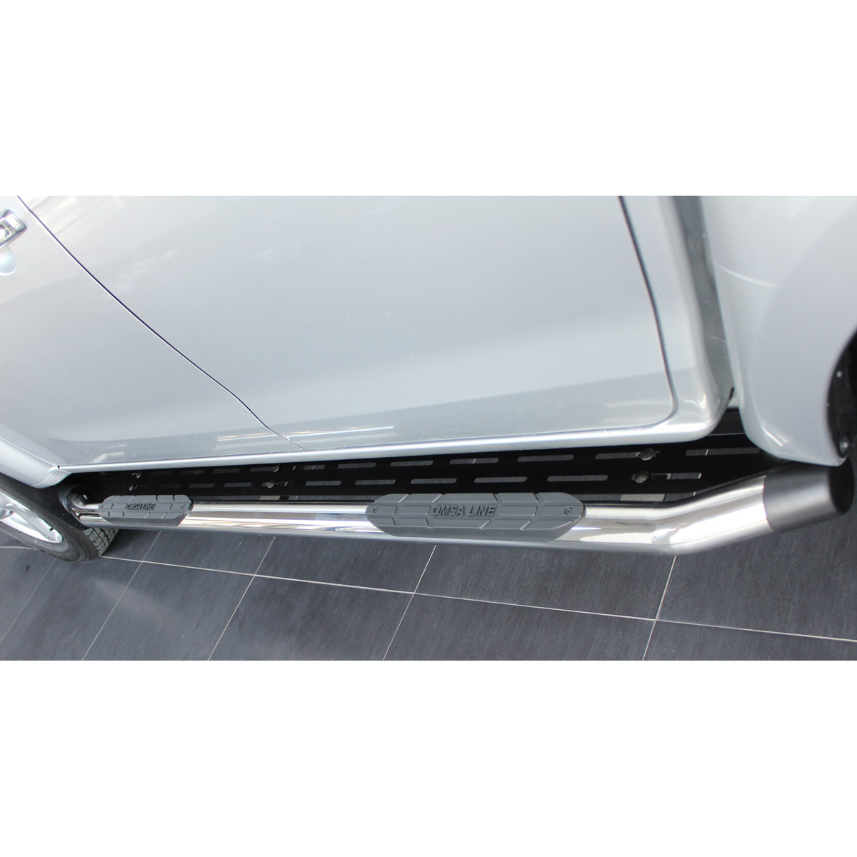 Пороги Toyota hilux 2016