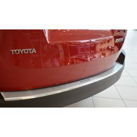 Накладка на задний бампер Toyota Rav 4 2017