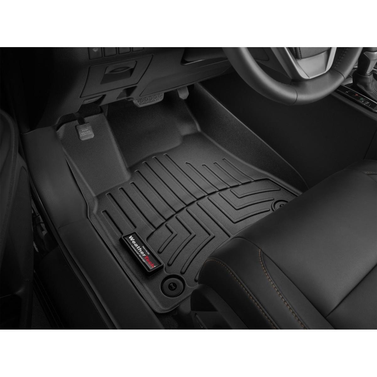 Коврики VW Amarok 2017 weathertech черные