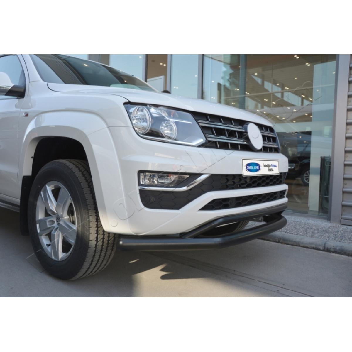Защита переднего бампера VW Amarok 2017