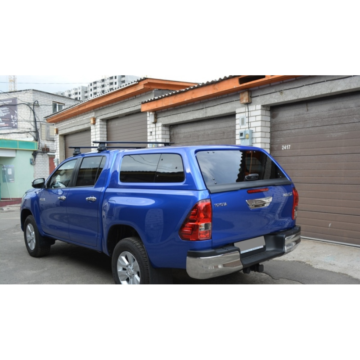 Кунг hilux 2017