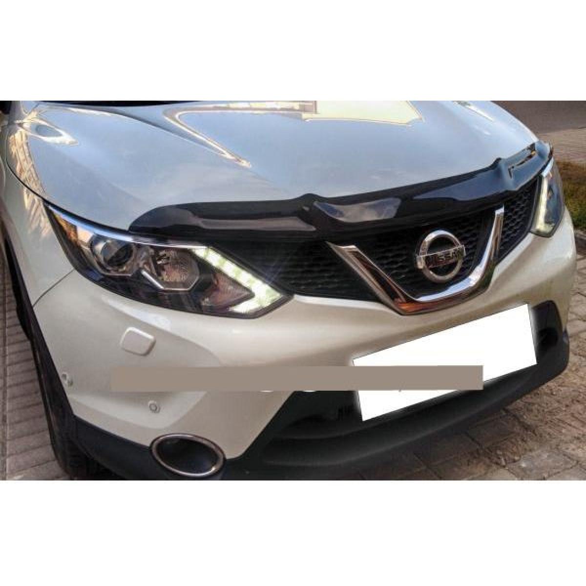 Дефлектор капота Nissan Qashqai 2015