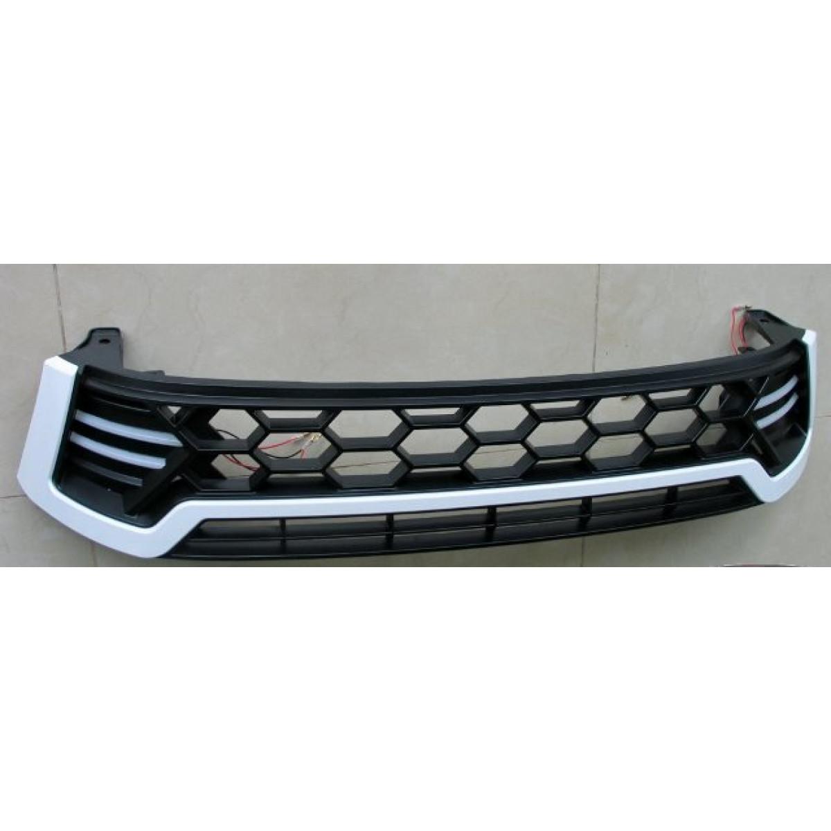 Решетка радиатора с LED DRL для Toyota Hilux 2016+