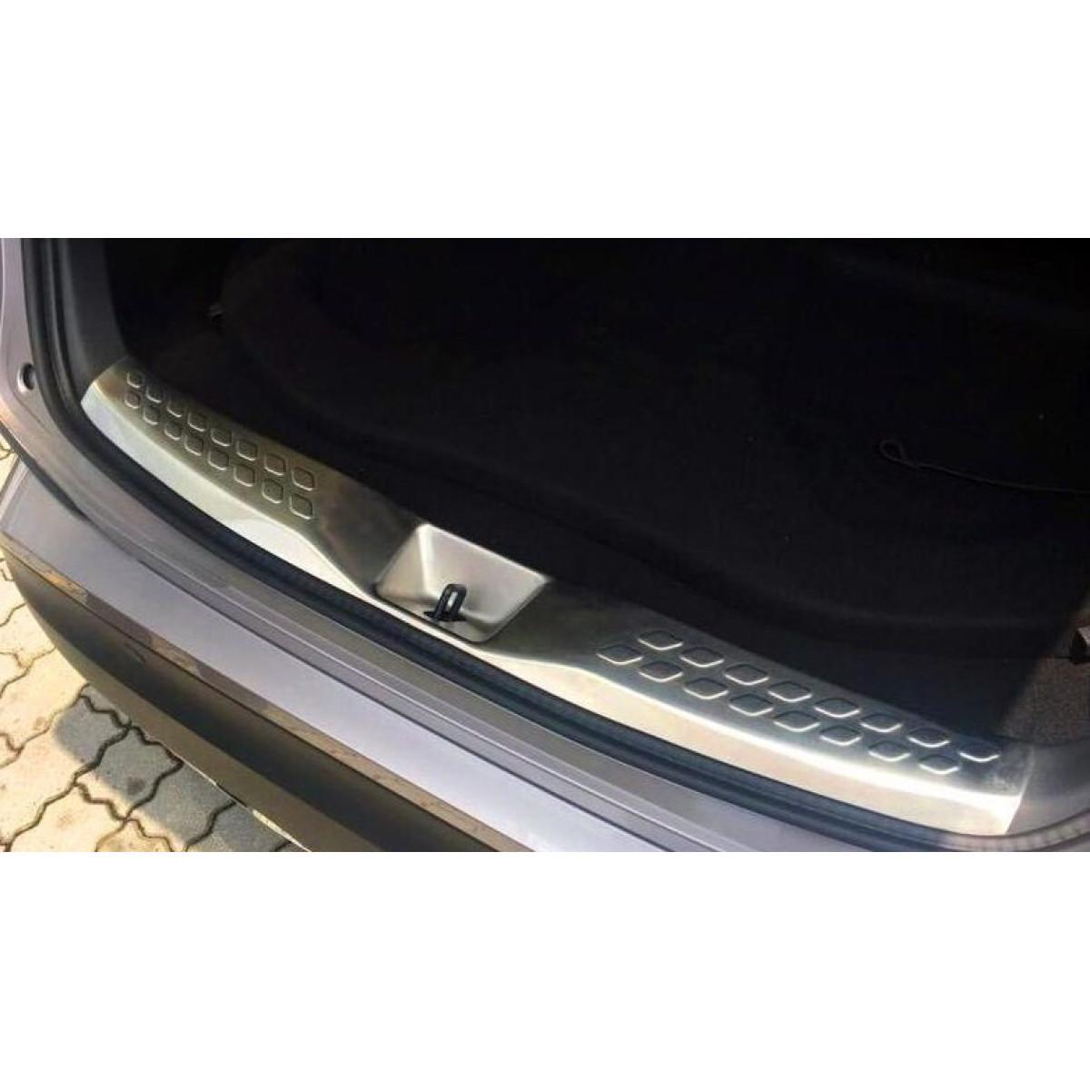Накладка на задний бампер Toyota C-HR 2018 внутренняя